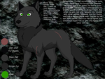 Zack Ref Sheet by Toothless121