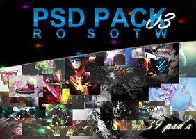Ro-Sotw PSD Pack 03 by sNakyGFX