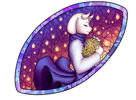 Toriel - Collab (+SPEEDPAINT) by 3Paula3