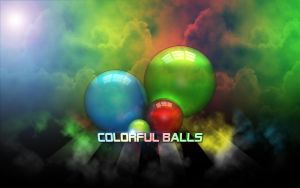 Colorful Balls by redrum201