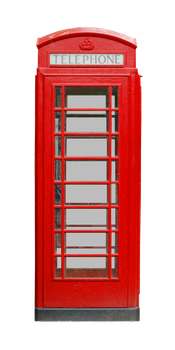 Old British Phonebox PNG.. by AledJonesStockNArt