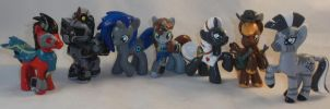 Custom Blindbag Fallout Equestria Set by Gryphyn-Bloodheart