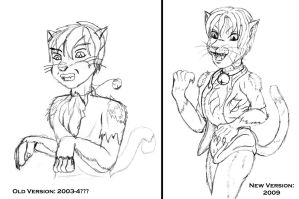 Comparison - Cat TF by TimidTabby84