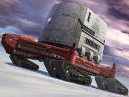Arctic Mobile Base by hinxlinx