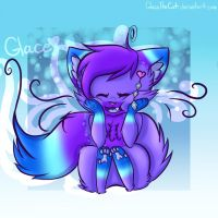 Glace Being Cute by GlaceTheCat