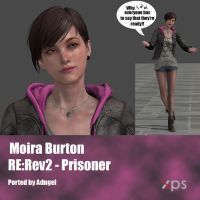 Moira Burton RE:Rev2 Prisoner by Adngel