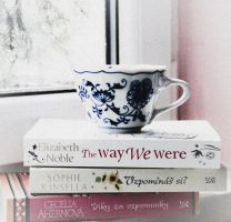 103/365 Books and cup by photographybyteri