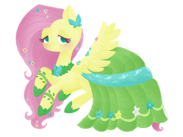 Fluttershy - Grand Galloping Gala by grandifloru