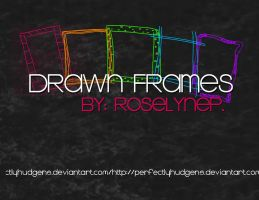 DRAWN'FRAME BRUSHES by PerfectlyHudgens