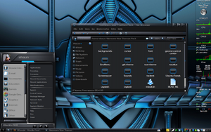 Alienware Darkstar for Gnome by technoshaun