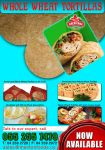 Whole Wheat Tortilla Leaflet newsletter by joscardozo