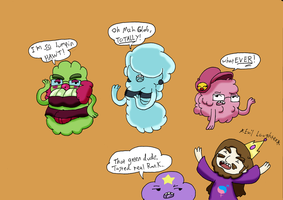 Lumpy Space Divas by Chaos-force