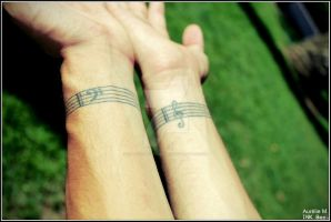 Stave On My Wrist by INK-Boy-Photography