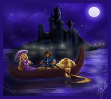 Oh Starry Night by Aspendragon