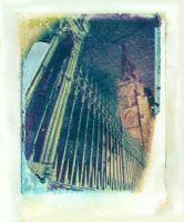 Polaroid Transfer - Trinity by TheDreamerWorld