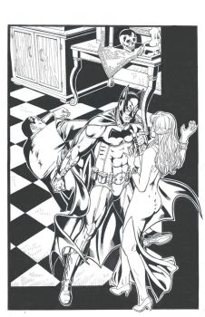 Batman 4 Ink by GabrielMayorga1