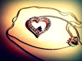 heart on a chain.. by lily314