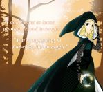 Merlin Oc: Anna (Witch Gown) by FrogPrincess01
