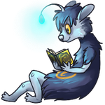 I'm Readin a Book [Commission] by Pepper-Head