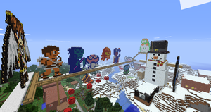 More of my creations in Minecraft: 1 by Chaoslink1