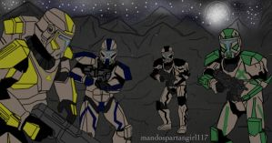 Raven Squad Abanandoned by mandospartangirl117