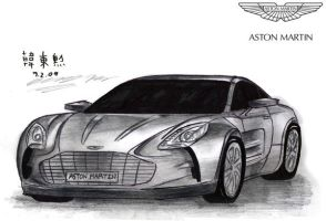 Berto's Aston Martin One-77 by toyonda
