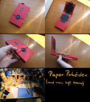 Paper Pokedex by RayCycha