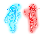 [Collab] Squiddykiddies by Zimandchowder4evr