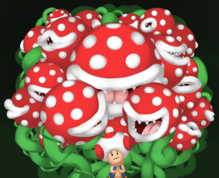 what a tastey looking toad by BillyTheQueen