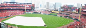 Busch Stadium Panorama by Thierro