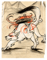 Amaterasu by rollingrabbit