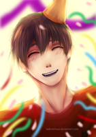 Happy Birthday Makoto! by Ludozerkaa
