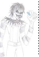 Laughing Jack Doodle by izzynoodles