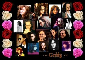 The Many Faces of Geddy by NobodysHeroine1994