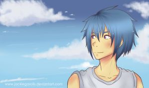 In the sky (Ayami version) xd by JaelynGS
