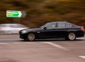 Blonde and BMW by DundeePhotographics