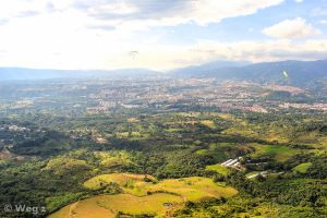 Colombia from above by BioHazardSystem