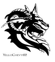 Dragon Logo by yellochevy02