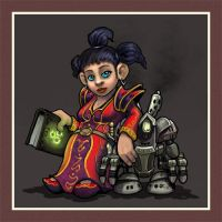 Gnome Mage by OrcOYoyo