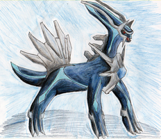 Dialga by AliRose-Art