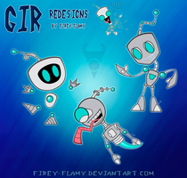CE: Gir Redesigns by Firey-Flamy