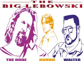 Big Lebowski vector by choffman36
