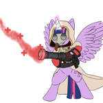Twilight Sparkle, the mlg pro by SergioSource