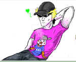 iScribble Lil Cal Love by LuckyIrishEyes