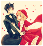 Little Red Riding Hood and The Big Bad Wolf by ruichou