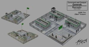 Generals RTS Barracks by KevinMassey