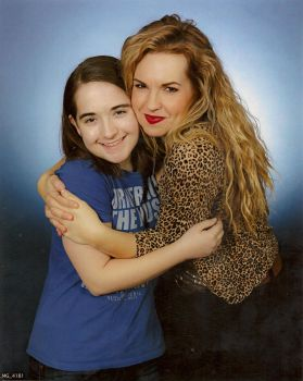 Me with Briana Buckmaster! by Earth-Girl-42