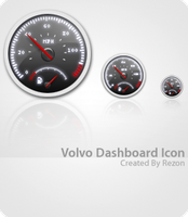 Volvo Dashboard by dfiller