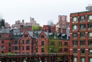 Views of NY 24 High Line by LucieG-Stock