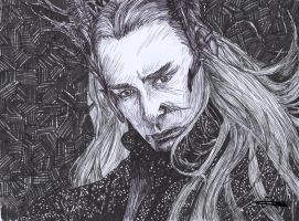 Thranduil from The Hobbit by mcsaza